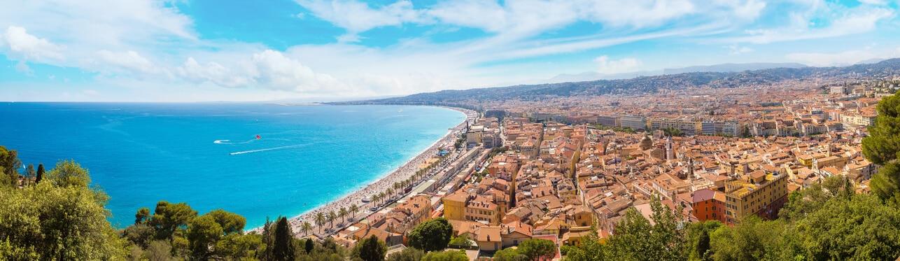 Aéroport de Nice-Côte d'Azur, l'ouverture sur la Méditerranée